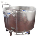 Double Bottom for Ricotta - Ingegneria Alimentare SRL